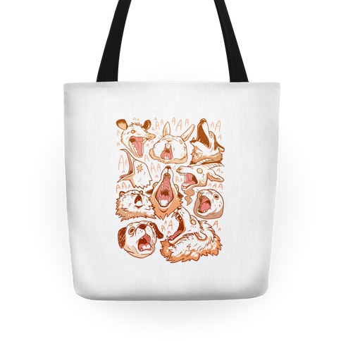 Screaming Animals Tote