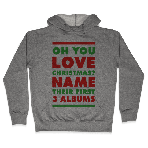 Oh You Love Christmas Hooded Sweatshirt