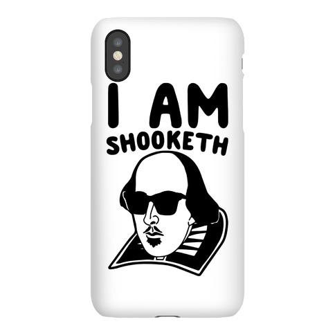 I Am Shooketh Phone Case