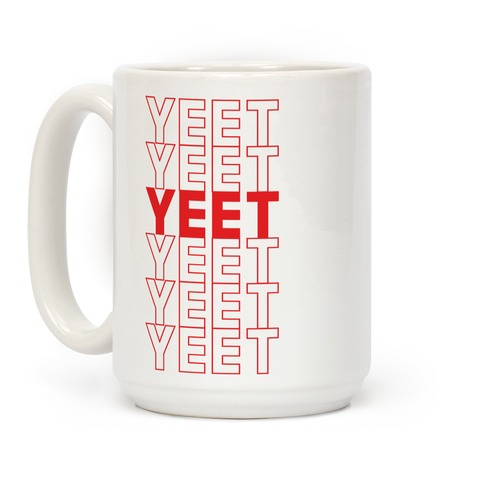 Thank You Bag Parody (Yeet) Coffee Mug