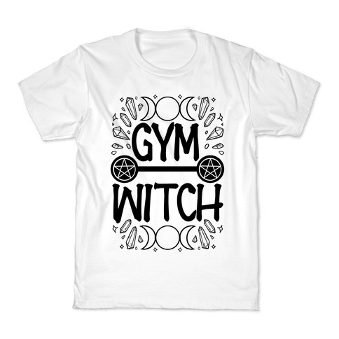 Gym Witch Kids T-Shirt