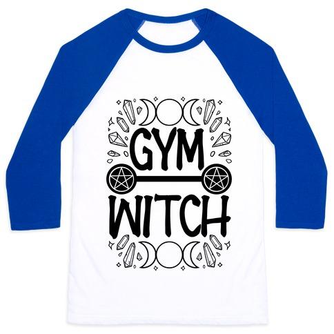 Gym Witch Baseball Tee