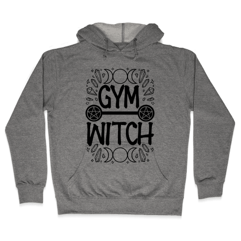 Gym Witch Hooded Sweatshirt