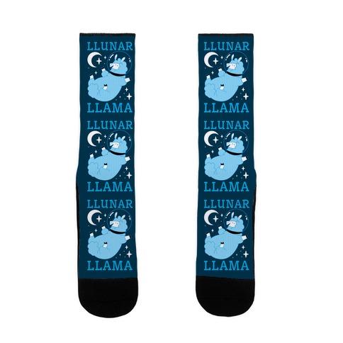 Llunar Llama Sock