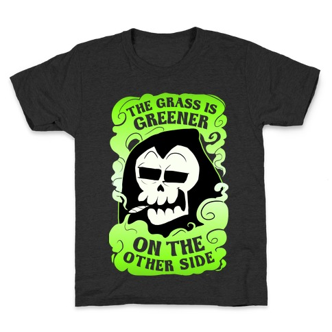 The Grass Is Greener On The Other Side Kids T-Shirt