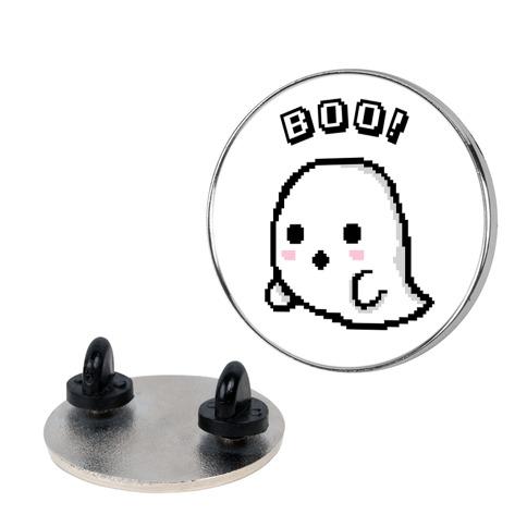 Pixel Ghost Pin