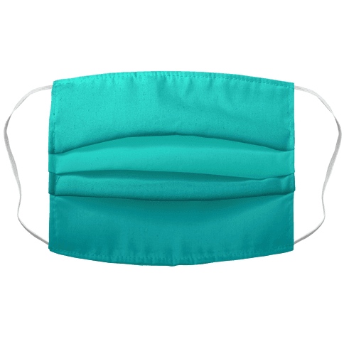 Teal Gradient Face Mask Cover