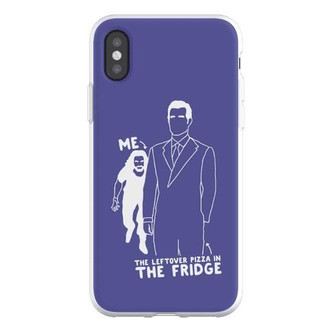 Me Vs. The Leftover Pizza In The Fridge Phone Flexi-Case