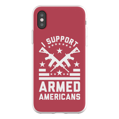 I Support Armed Americans Phone Flexi-Case