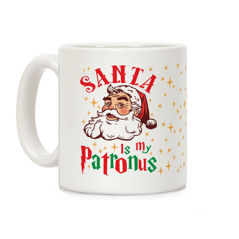 Santa Is My Patronus Coffee Mug