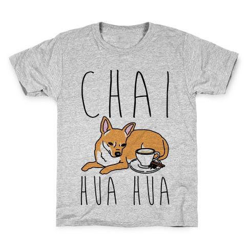 Chai Hua Hua Chihuahua Parody Kids T-Shirt