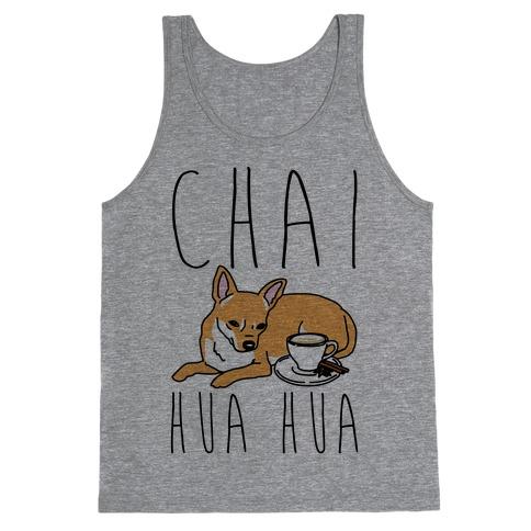Chai Hua Hua Chihuahua Parody Tank Top