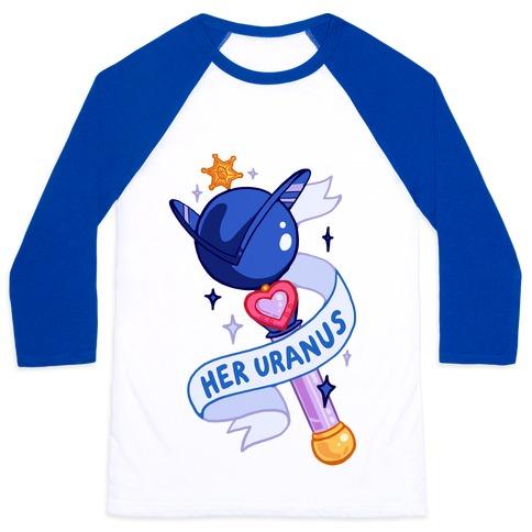 Her Uranus Pair 2 Baseball Tee
