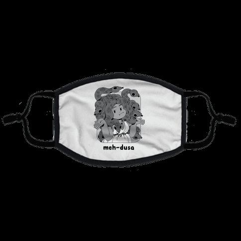 MEH-dusa Flat Face Mask