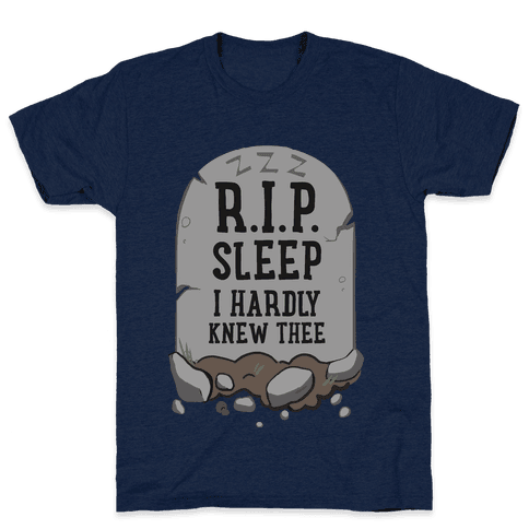 R.I.P. sleep Mens T-Shirt