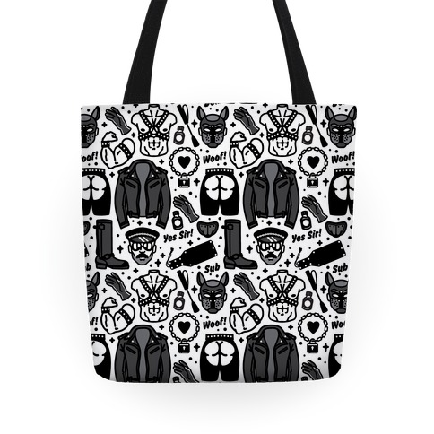 Leather Daddy Pattern Tote