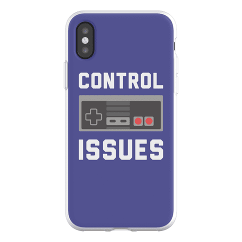 Control Issues Phone Flexi-Case