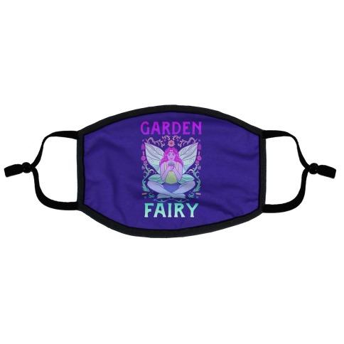Garden Fairy Flat Face Mask