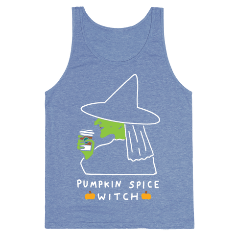 Pumpkin Spice Witch Tank Top
