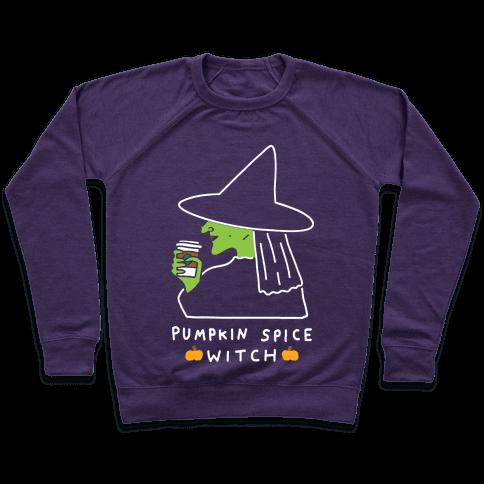 Pumpkin Spice Witch Pullover