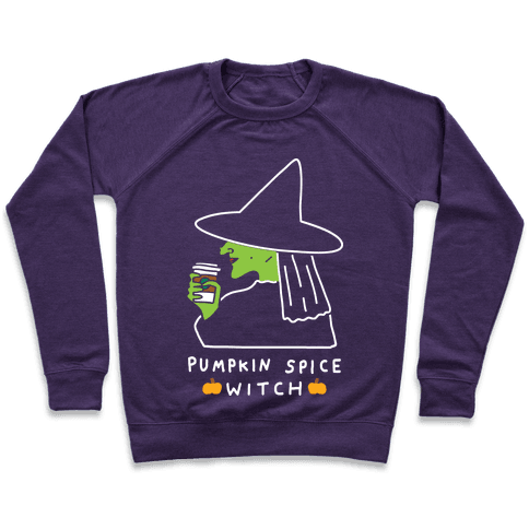 Pumpkin Spice Witch Pullover
