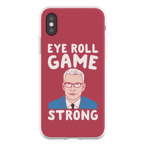 Eye Roll Game Strong Phone Flexi-Case