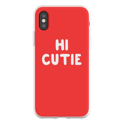 Hi Cutie Phone Flexi-Case