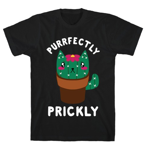 Purrfectly Prickly T-Shirt