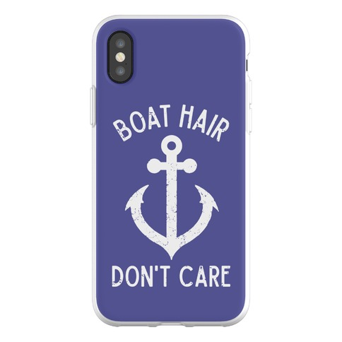 Boat Hair Don't Care Phone Flexi-Case