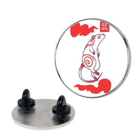 Rat - Chinese Zodiac pin