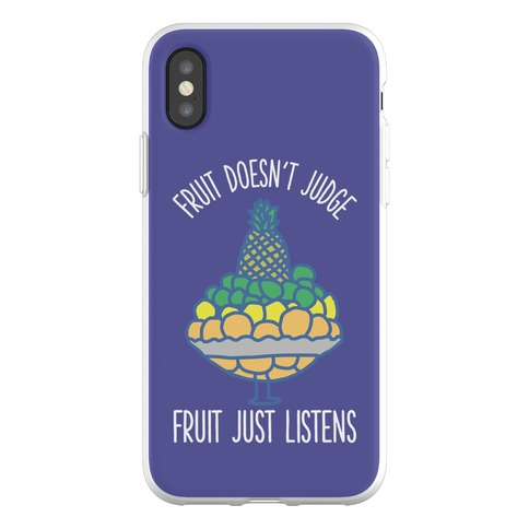 Fruit Doesn't Judge Phone Flexi-Case