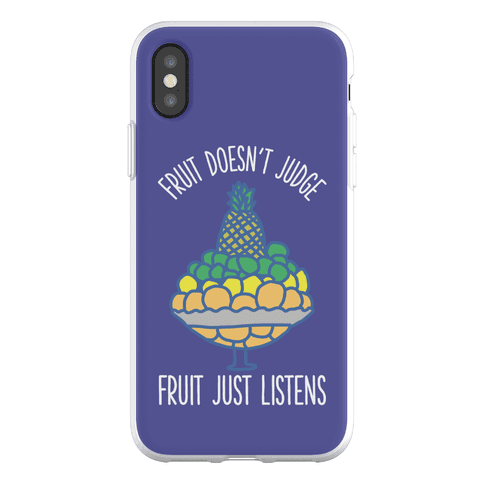 Fruit Doesn't Judge Phone Flexi-Case