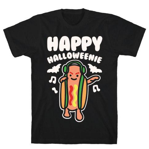 Happy Halloweenie Parody White Print