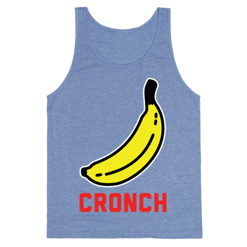 Cronch Banana Meme Tank Top