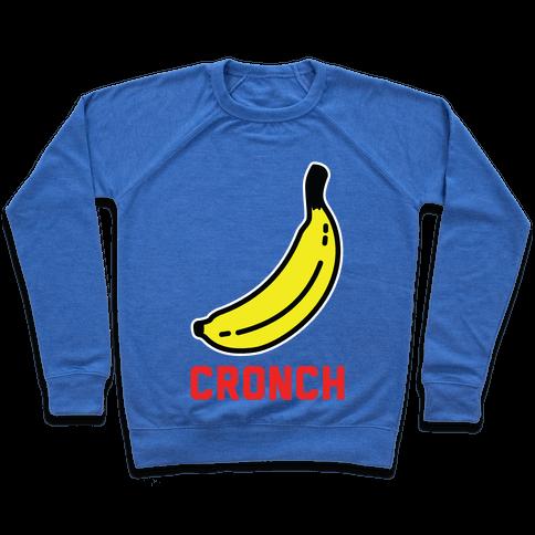 Cronch Banana Meme Pullover