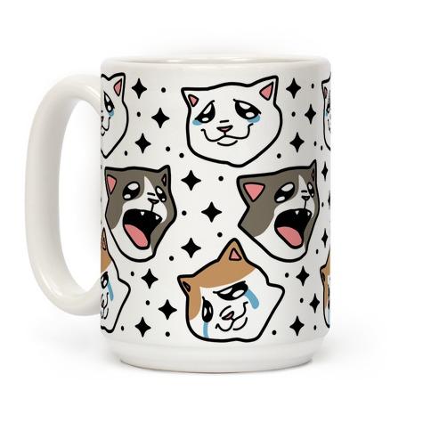 Crying Cats Coffee Mug