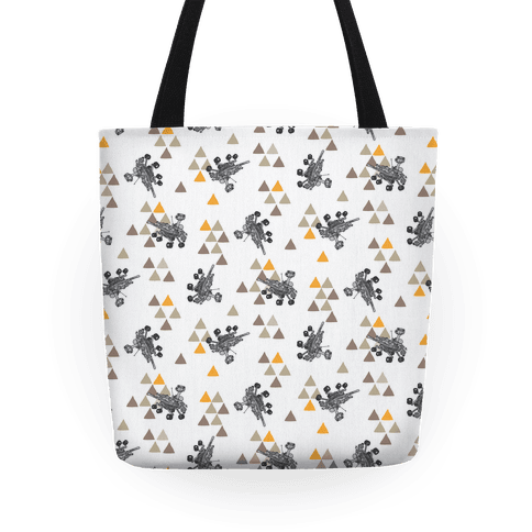 Wandering Mars Rover Tote