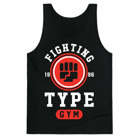Fighting Type Gym 1996 Tank Top