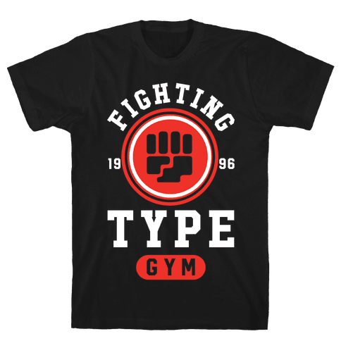 Fighting Type Gym 1996 Mens T-Shirt