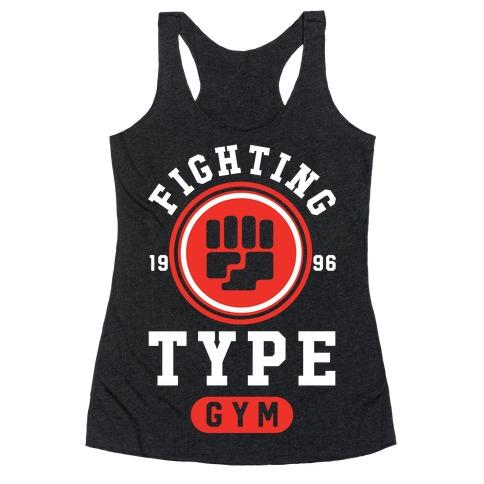 Fighting Type Gym 1996 Racerback Tank Top