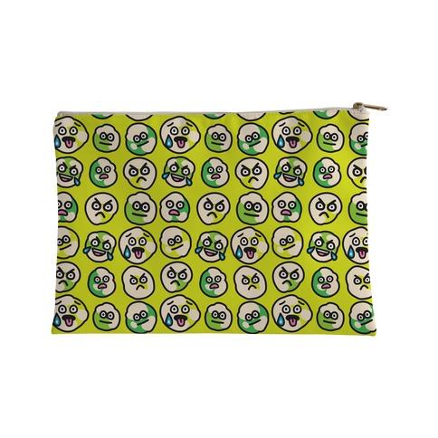 Wasabi Peas Pattern Accessory Bag