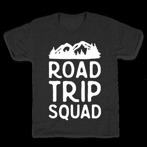 Road Trip Squad Kids T-Shirt