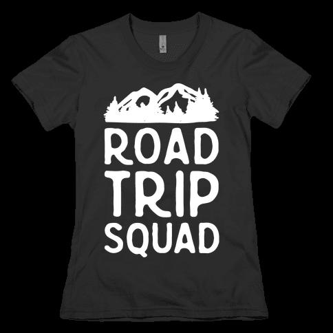 Road Trip Squad Womens T-Shirt