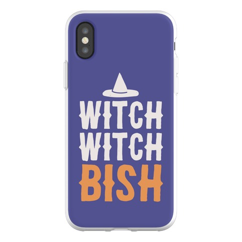 Witch Witch Bish Parody Phone Flexi-Case