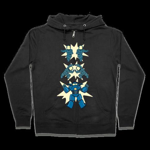 Jaeger Fusion Dance Zip Hoodie