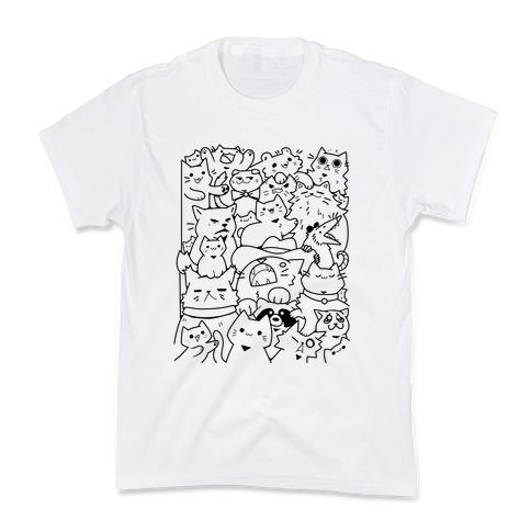 CATS CATS CATS! Kids T-Shirt