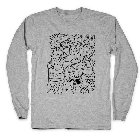 CATS CATS CATS! Long Sleeve T-Shirt