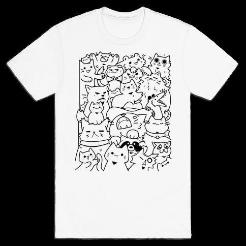 CATS CATS CATS! Mens/Unisex T-Shirt