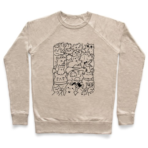 CATS CATS CATS! Pullover