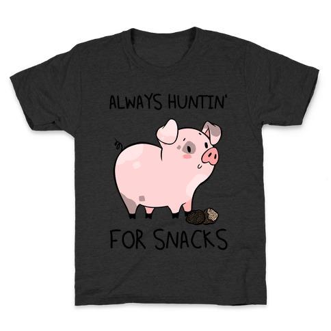 Always Huntin' For Snacks Kids T-Shirt